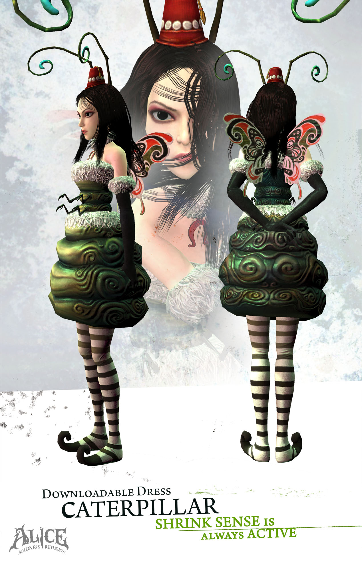Alice: Madness Returns - Weapons of Madness and Dresses Pack