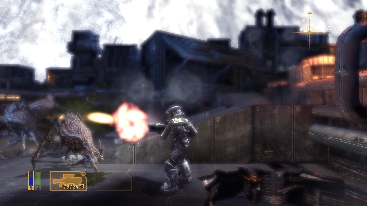 Alien Breed 3: Descent - Gameplay