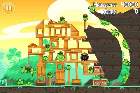 Angry Birds Season - Go Green, Get Lucky
