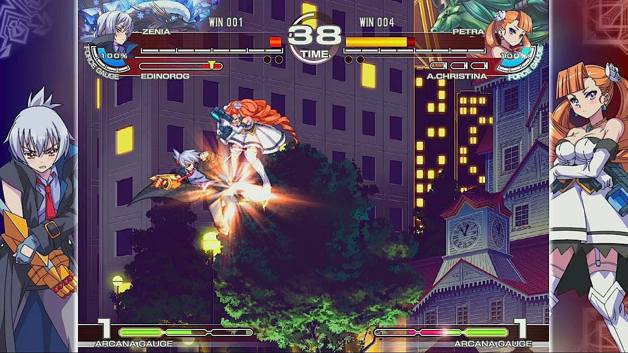 Arcana Heart 3 - Gameplay