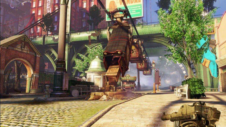Bioshock Infinite - Gameplay