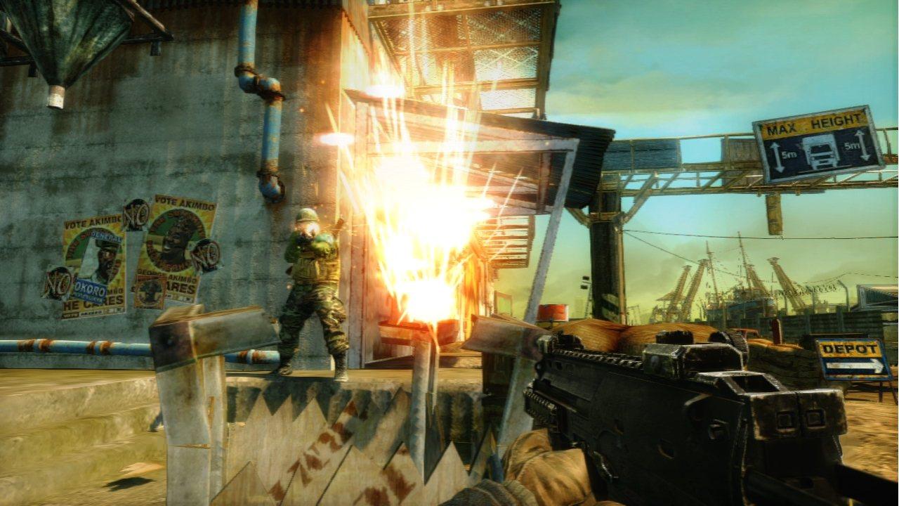 Bodycount - Esplosioni