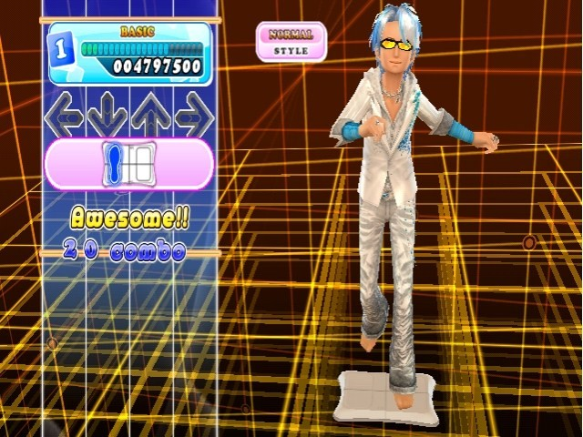Dance Dance Revolution - Screenshot Wii