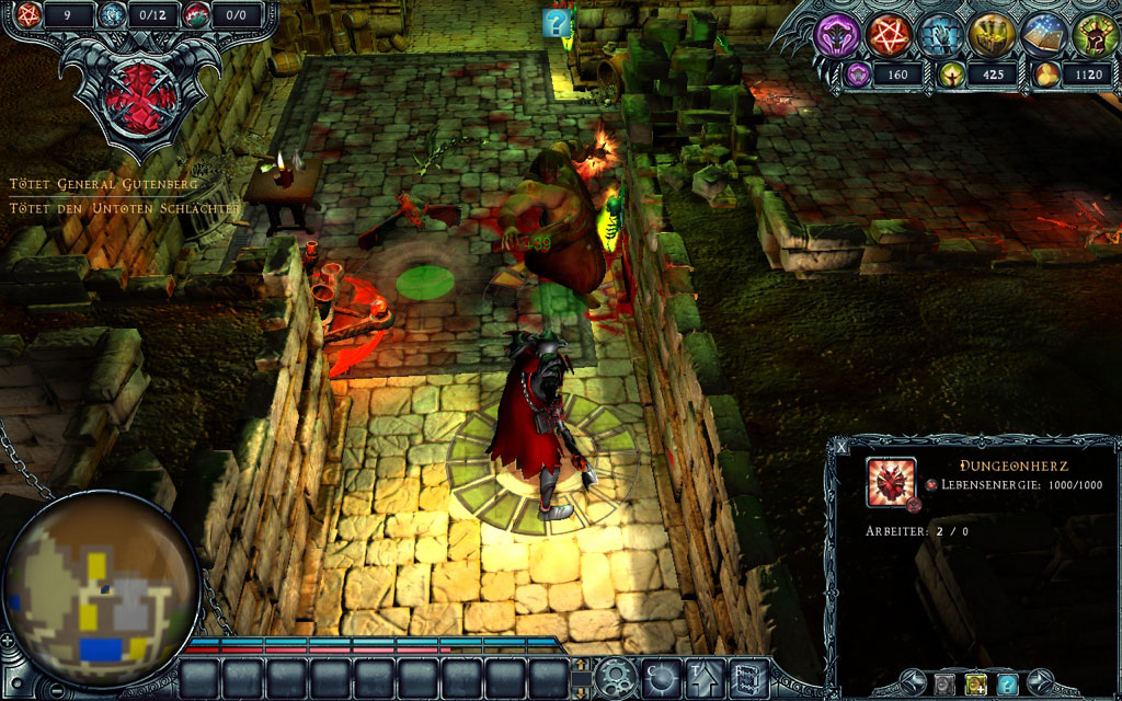 Dungeons - Gameplay