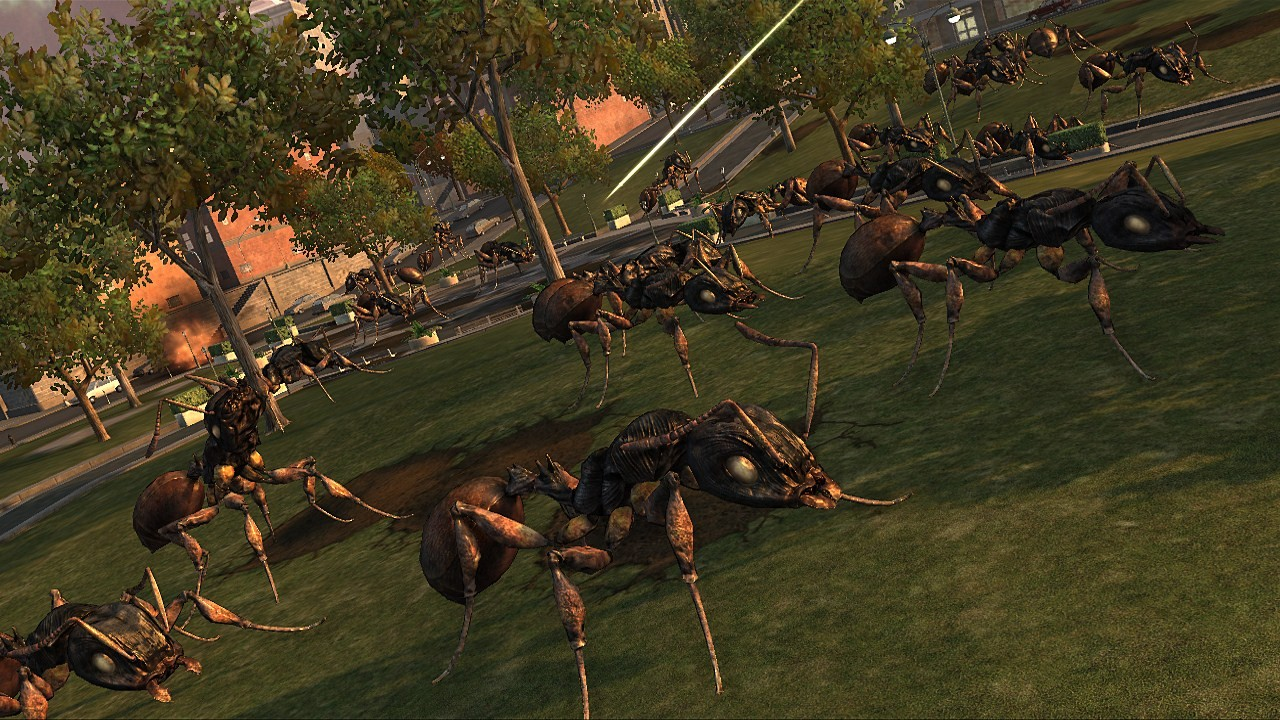 Earth Defense Force: Insect Armageddon - Screenshot GDC 2011