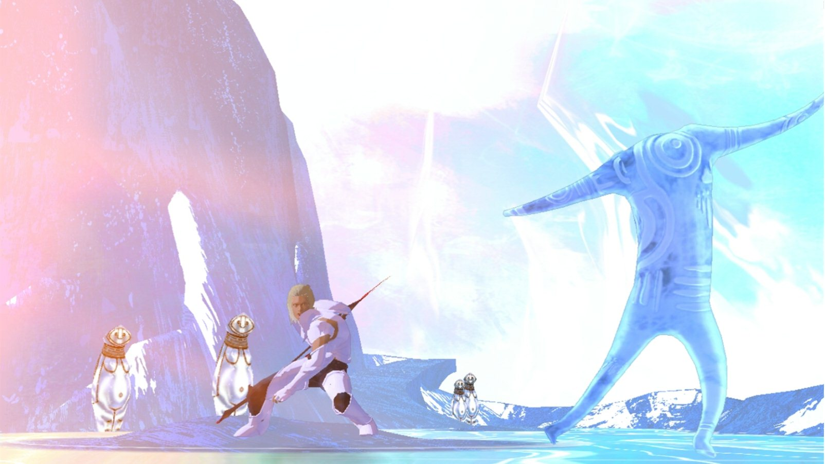 El Shaddai: Ascension of the Metatron - Gameplay