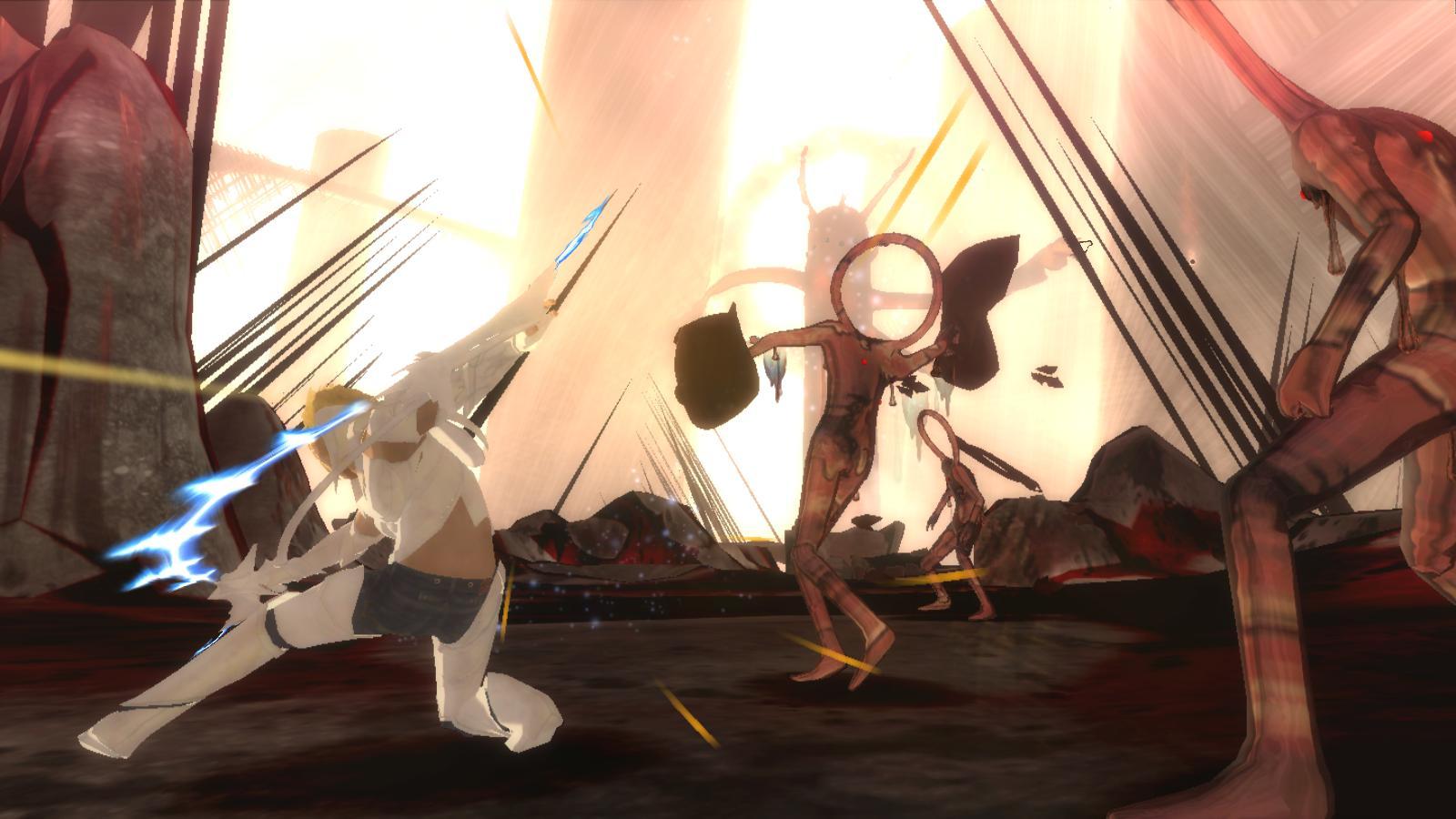 El Shaddai: Ascension of the Metatron - Screenshot