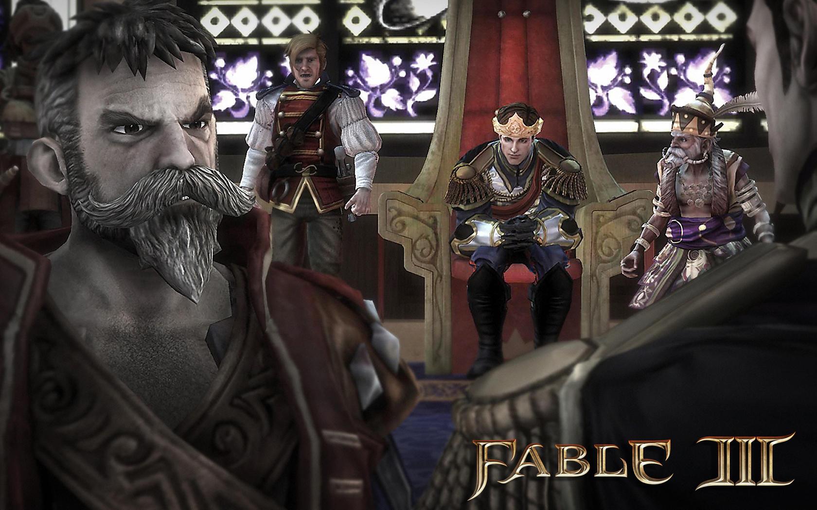 Fable 3 - Screenshot dalla versione PC