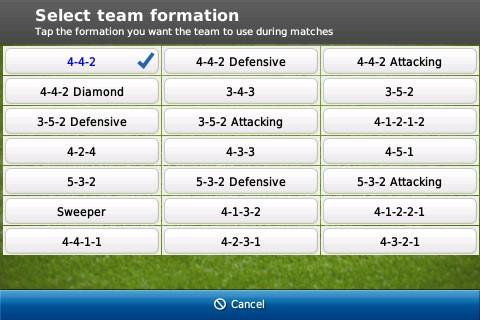 Football Manager 2011 - Screenshot iPad