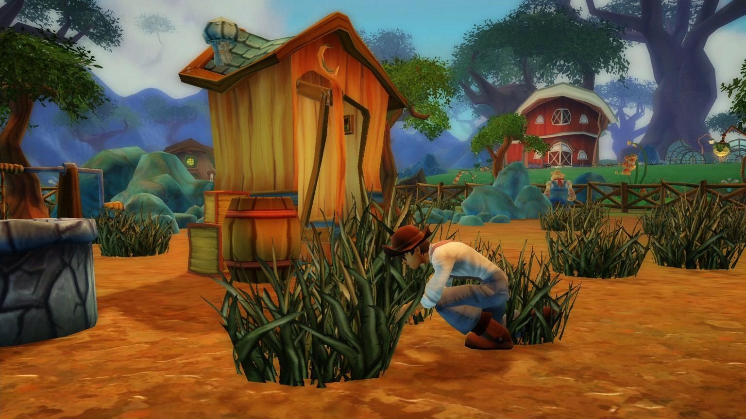 Free Realms - Farming