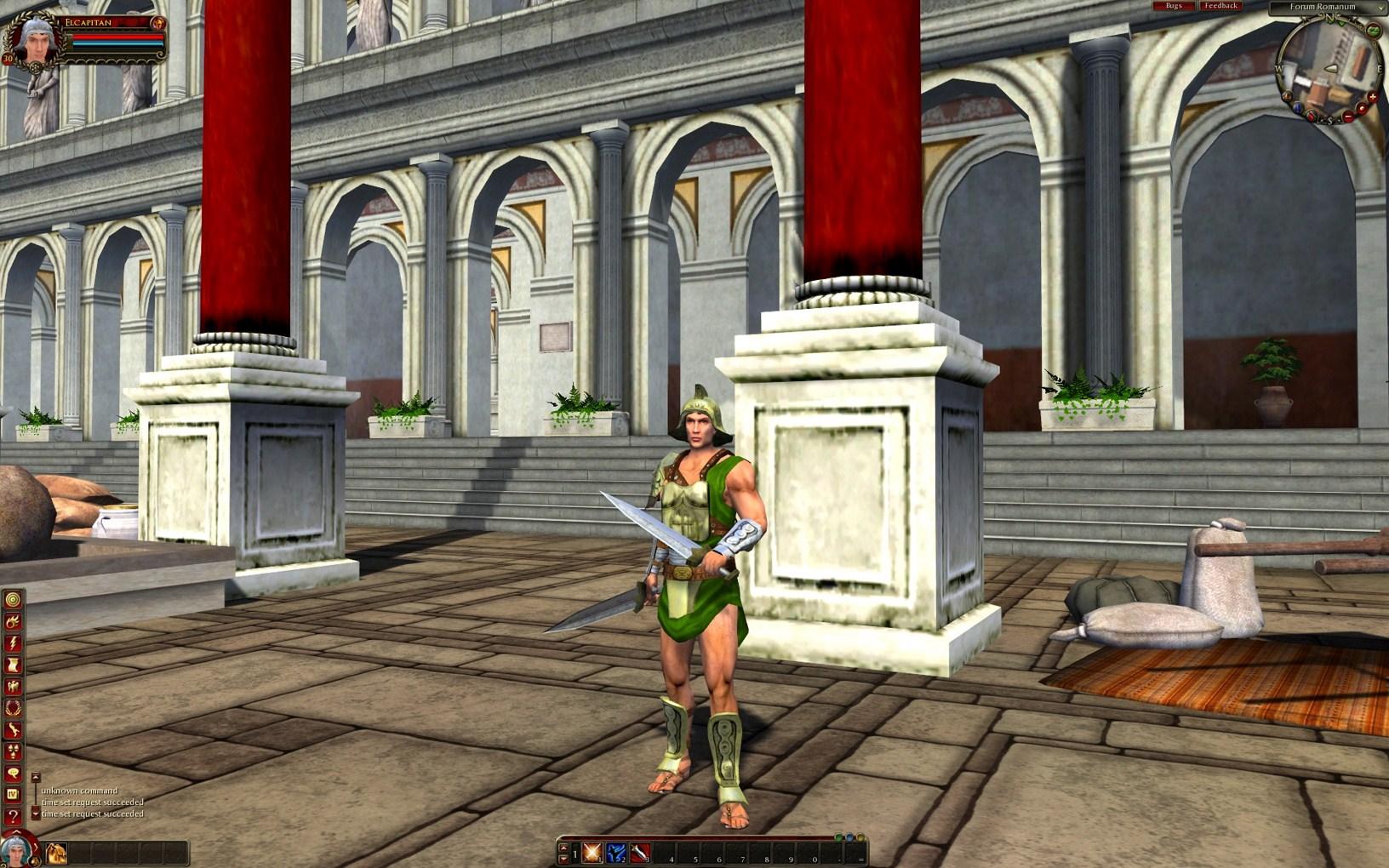Gods & Heroes: Rome Rising - Personaggi