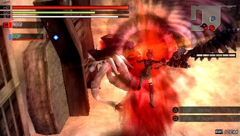Gods Eater Burst - Screenshot GDC 2011