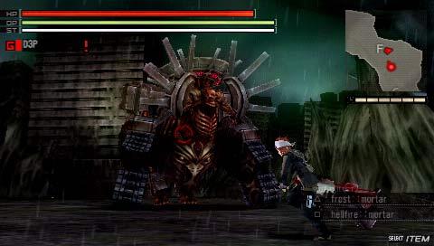 Gods Eater Burst - Screenshot