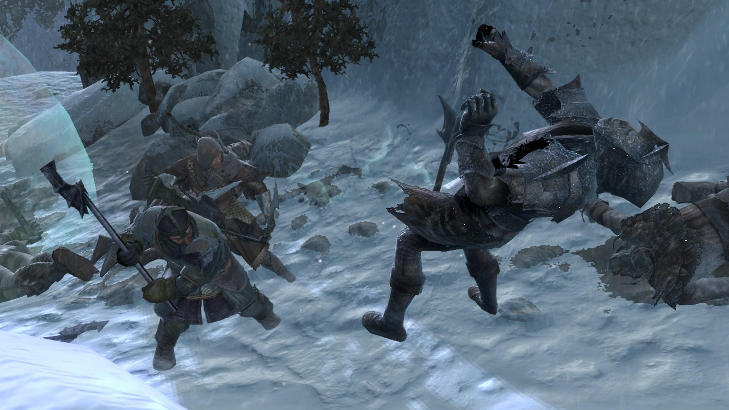 Il Signore degli Anelli: La Guerra del Nord - Battaglie sulla neve