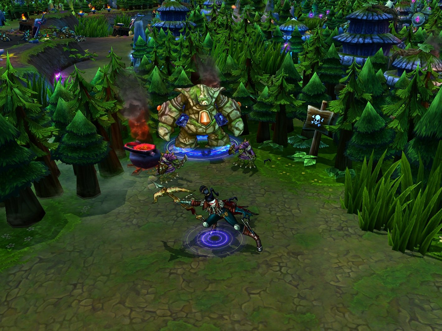 League of Legends: Clash of Fates - Screenshot
