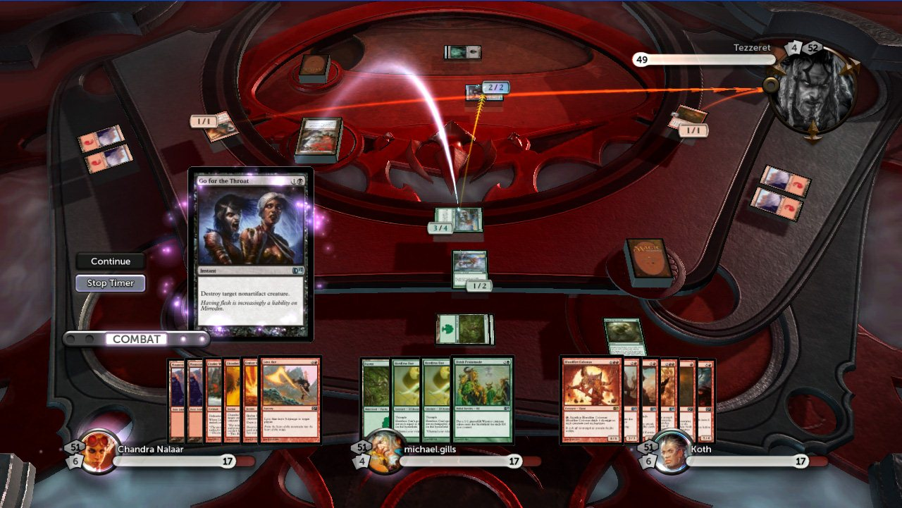 Magic the Gathering: Duels of the Planeswalkers - Screenshot