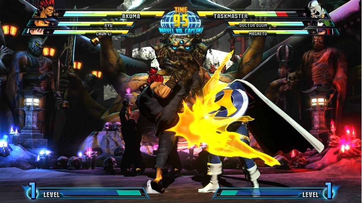 Marvel vs. Capcom 3: Fate of Two Worlds - Akuma e gli altri lottatori