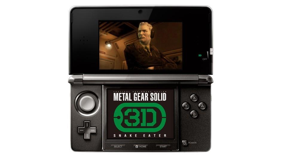 Metal Gear Solid: Snake Eater 3D - Screenshot TGS 2011