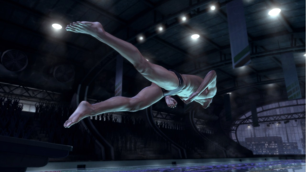 Michael Phelps: Push the Limit - Screenshot