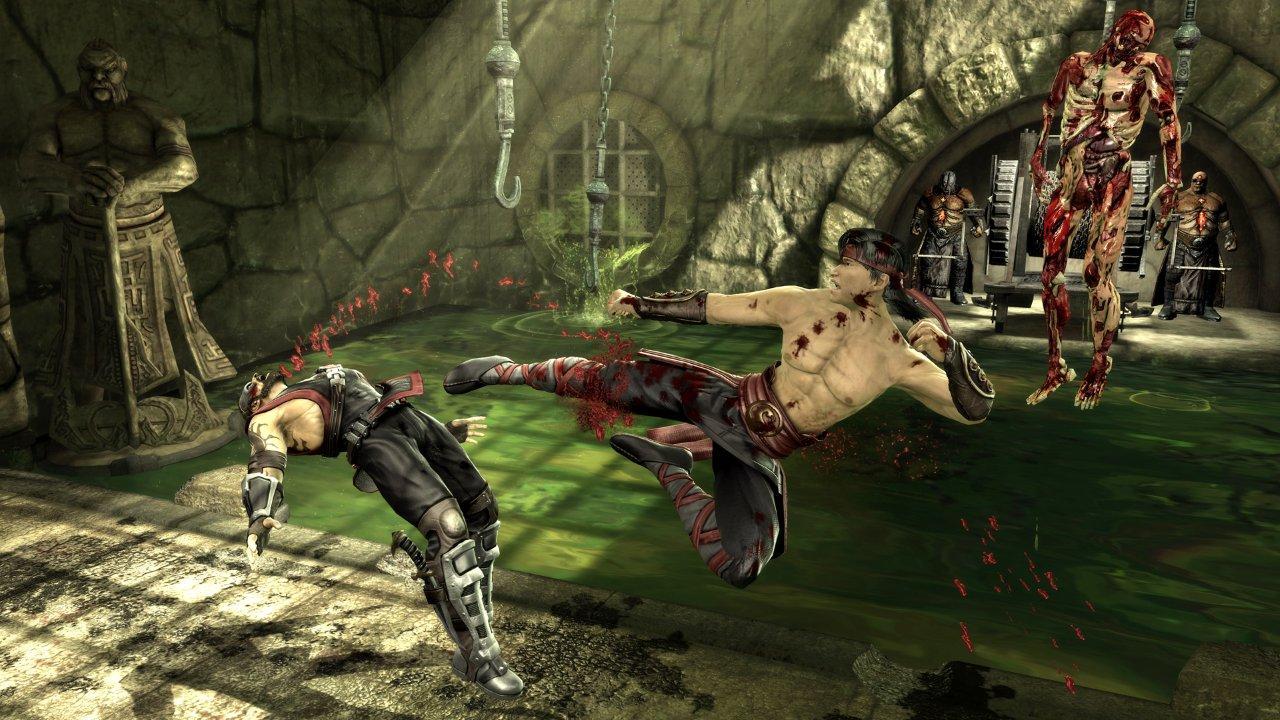 Mortal Kombat - Liu Kang, Mileena, Nightwolf, Sonya