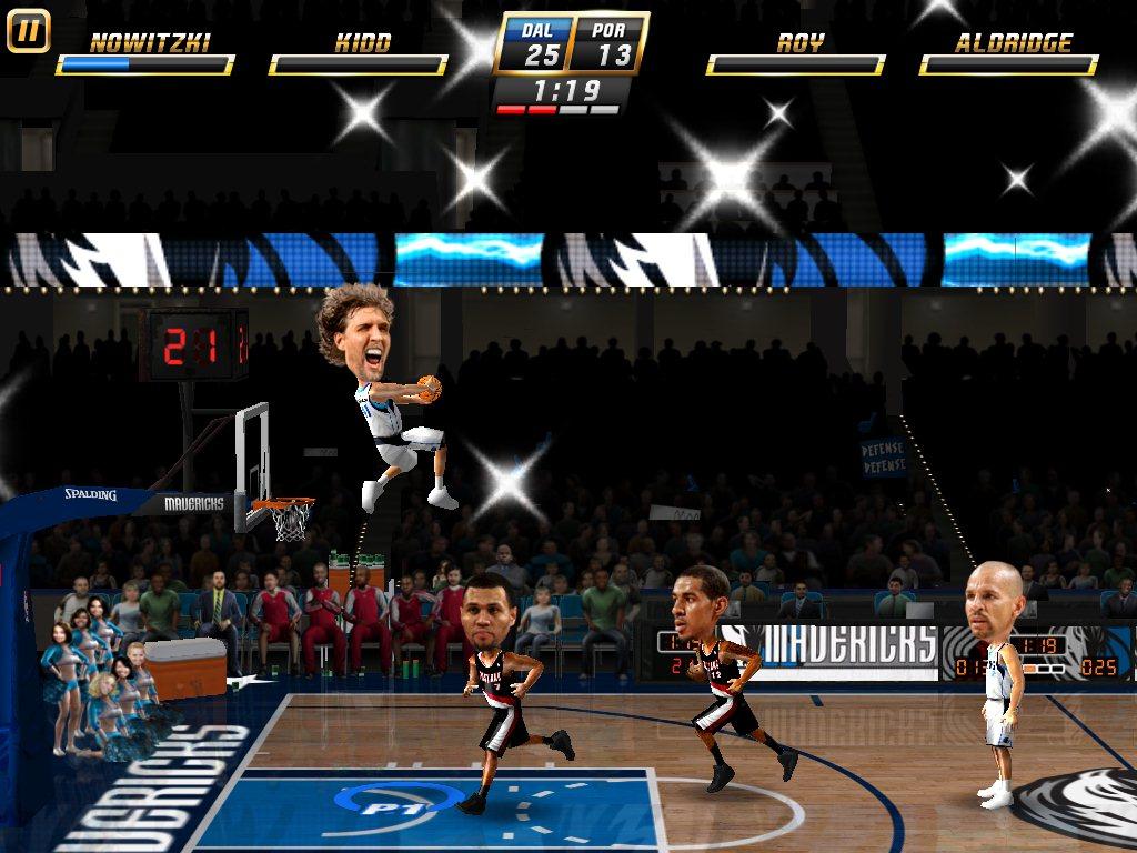 NBA Jam - Screenshot iPad