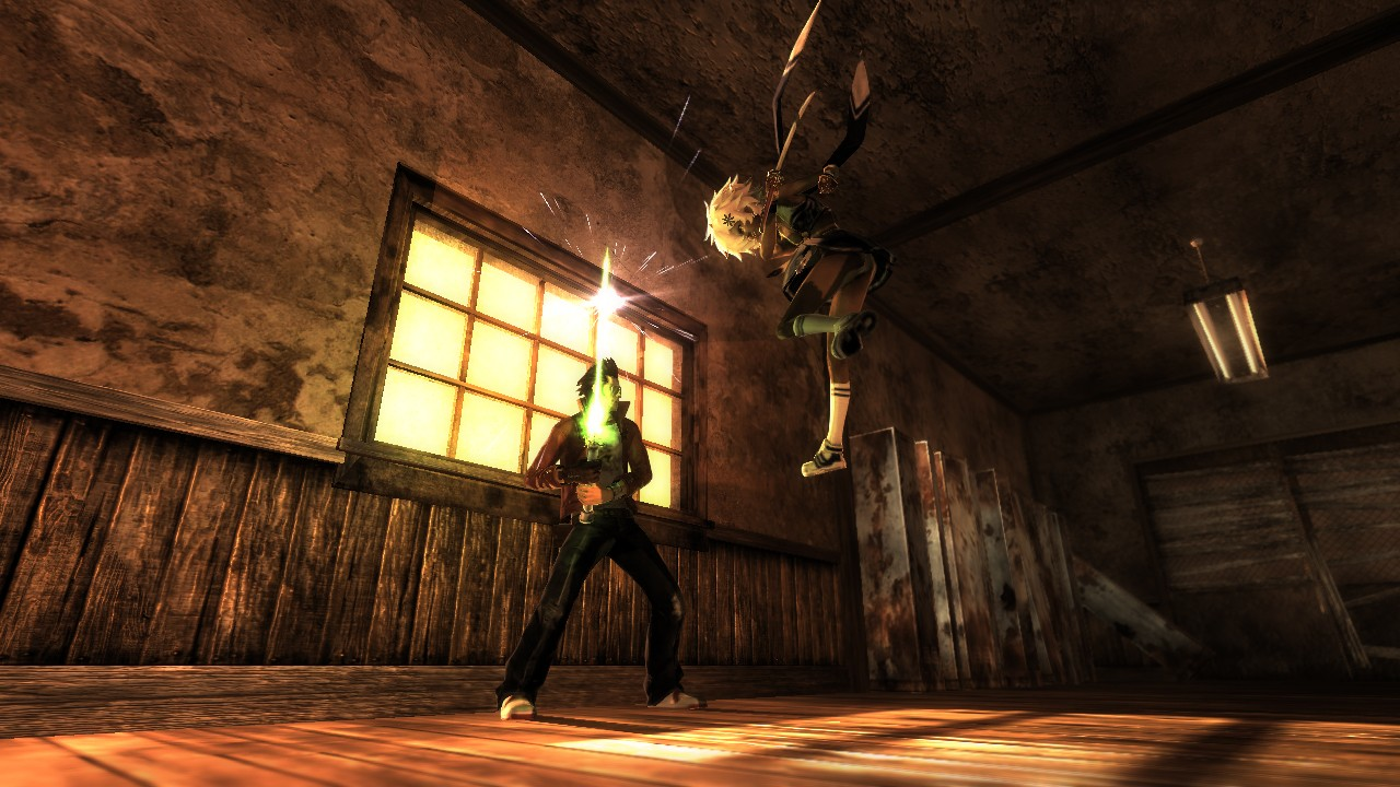 No More Heroes: Heroes Paradise - Travis Touchdown in azione