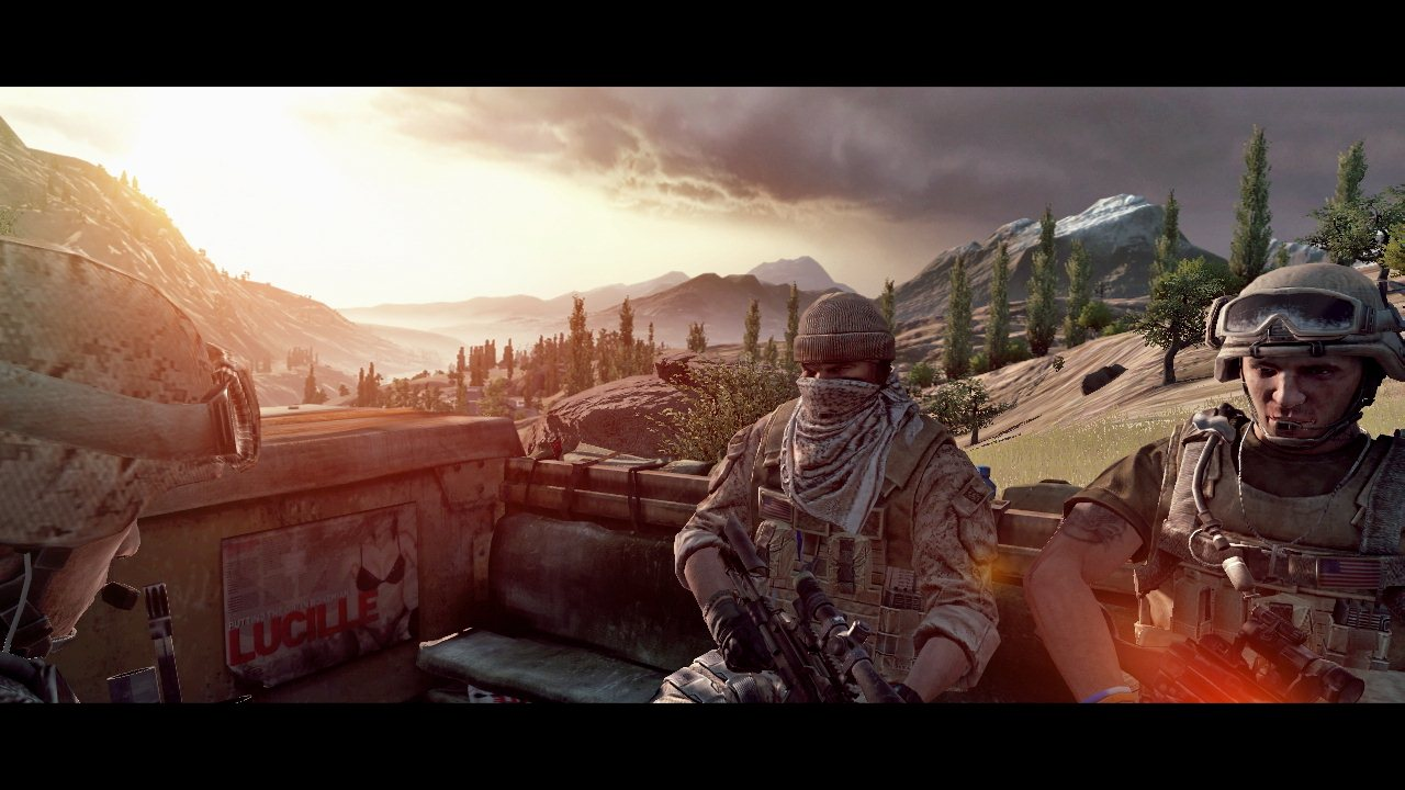 Operation Flashpoint: Red River - Screenshot di lancio