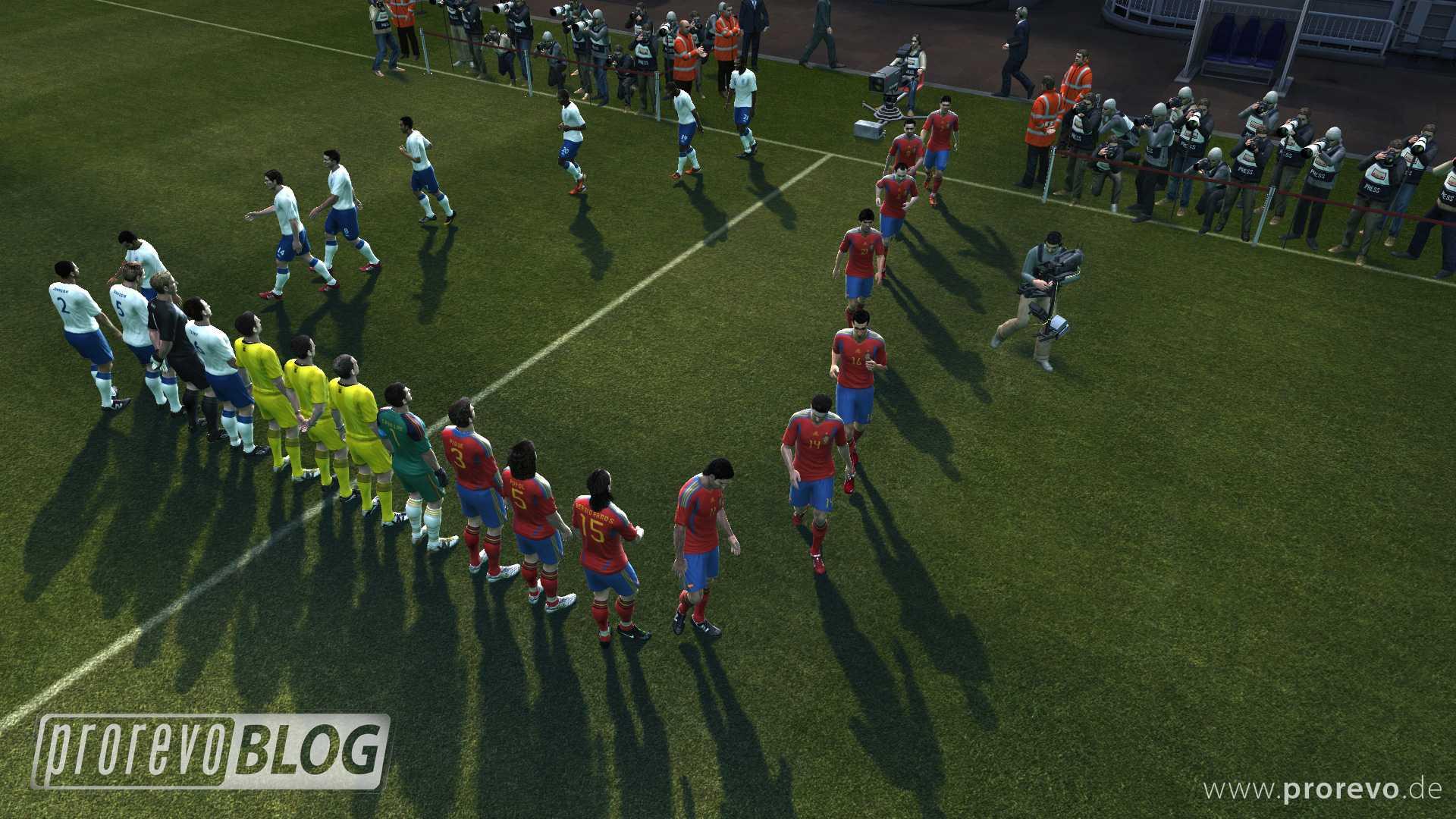 PES 2012 - Gameplay