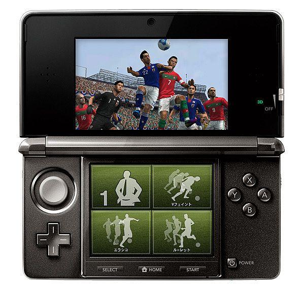 PES 2012 - Screenshot dal TGS 2011 per la versione 3DS