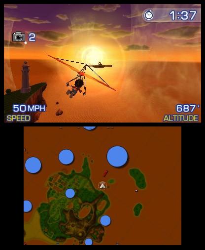 Pilotwings Resort - Screenshot