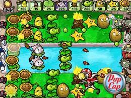 Plants vs. Zombies - Screenshot dalla versione Nintendo DS