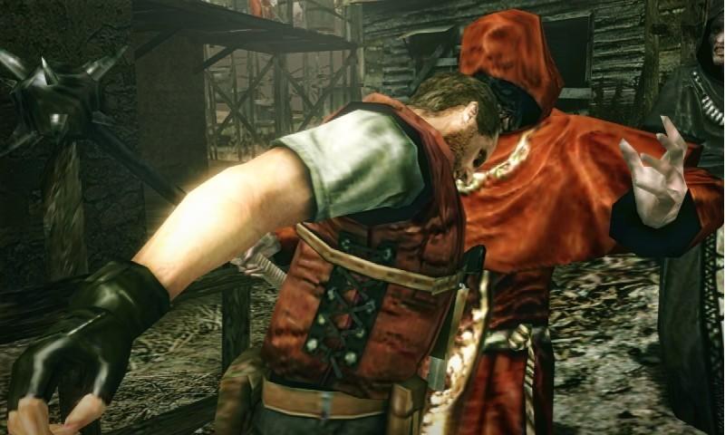 Resident Evil: The Mercenaries 3D - Barry Burton