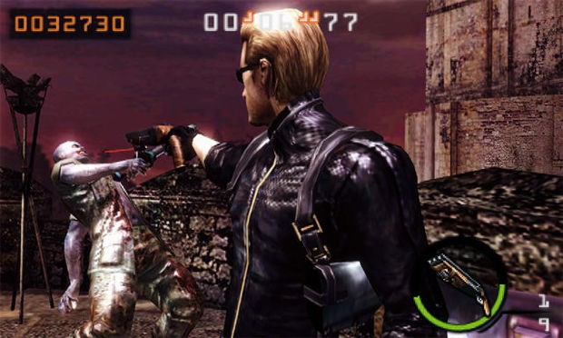 Resident Evil: The Mercenaries 3D - Gameplay