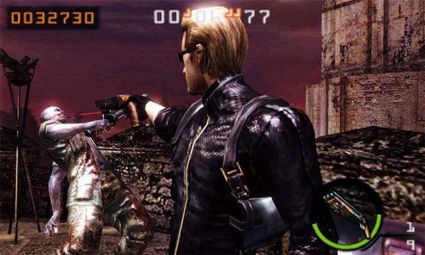 Resident Evil: The Mercenaries 3D - Gameplay