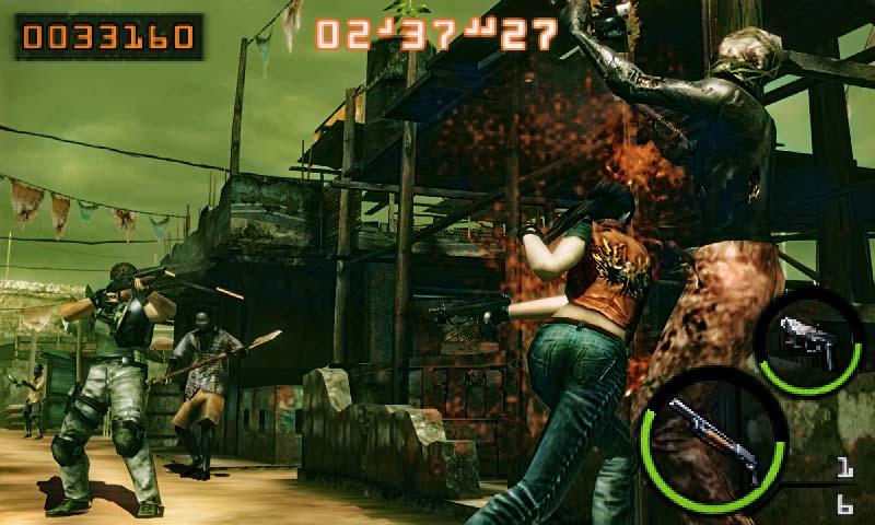 Resident Evil: The Mercenaries 3D - Screenshot Captivate 2011