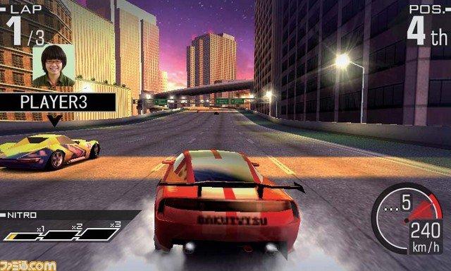 Ridge Racer 3D - Corse in tre dimensioni