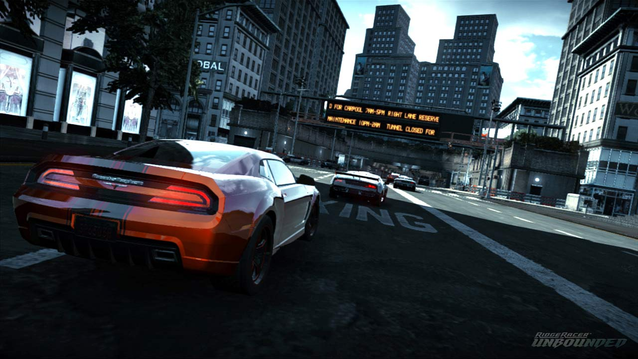 Ridge Racer Unbounded - Primi screenshot