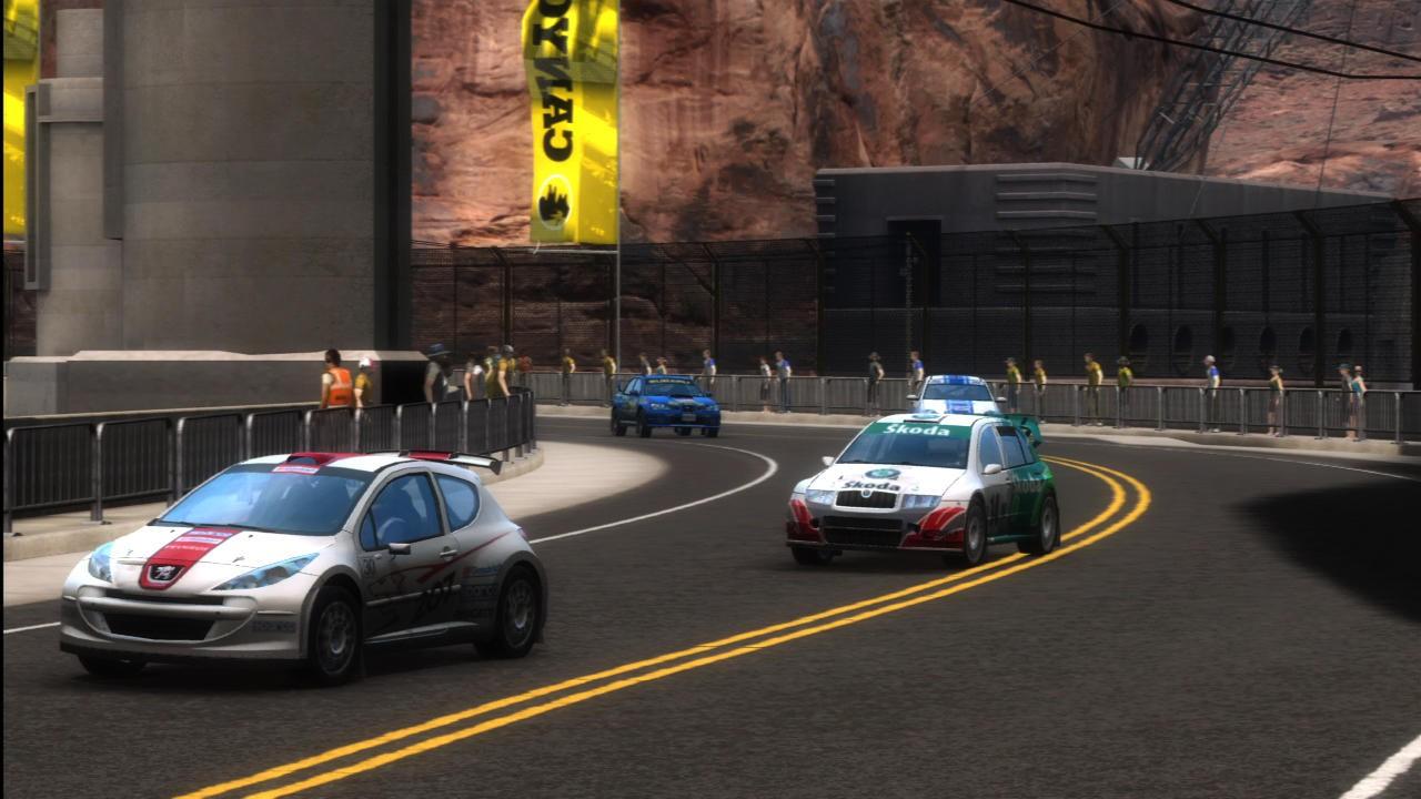 SEGA Rally Online Arcade - Gameplay