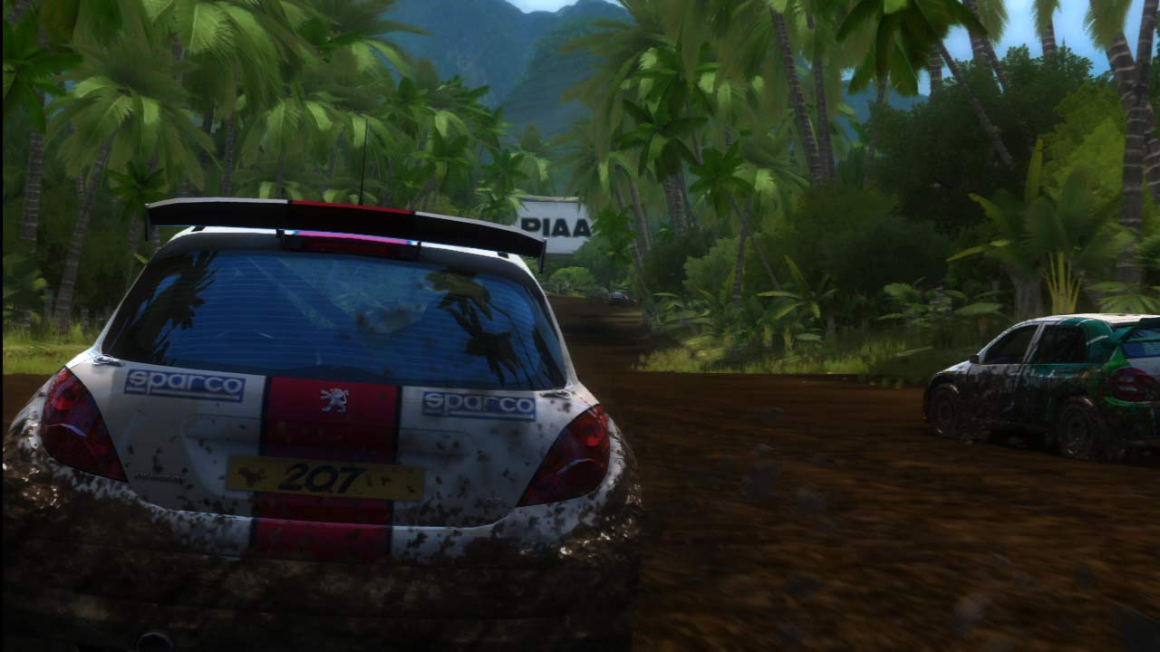 Sega Rally Online Arcade - In pista