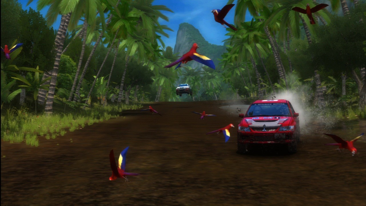 SEGA Rally Online Arcade - Screenshot