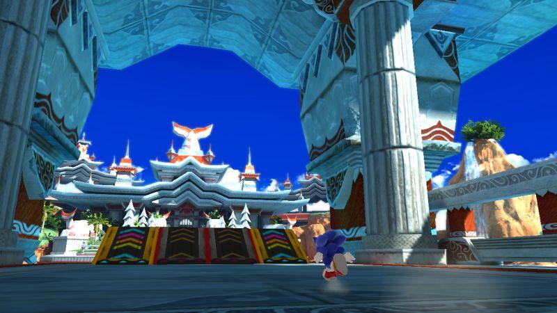 Sonic Generations - Fasi di gioco