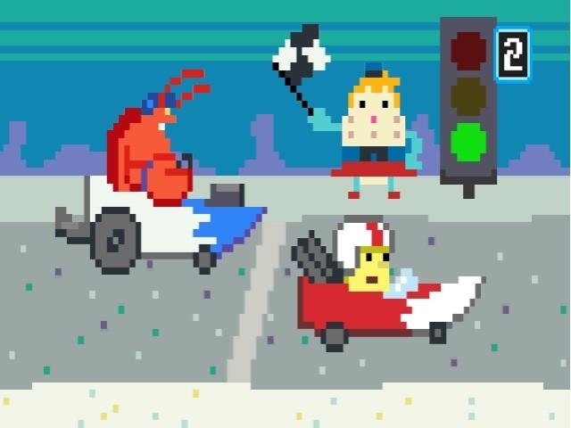 Spongebob SquigglePants - Screenshot Wii e DS