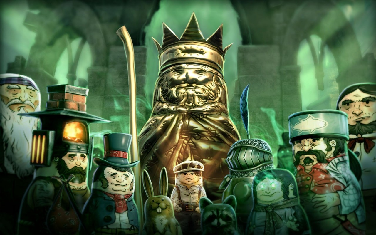 Stacking - DLC The Lost Hobo King