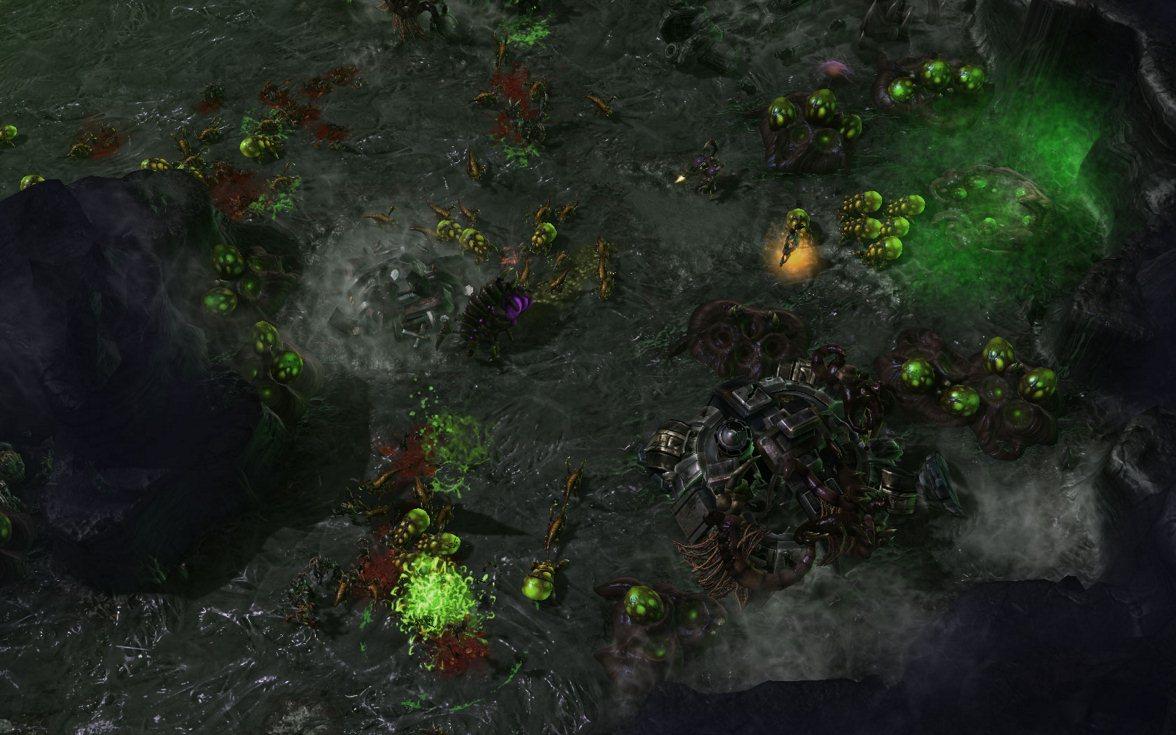 StarCraft II: Heart of the Swarm -Screenshot