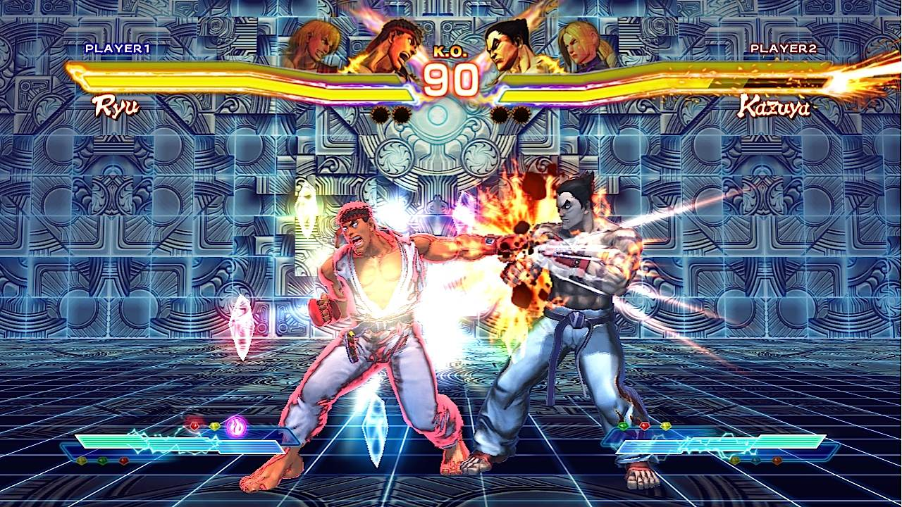 Street Fighter x Tekken - Screenshot NYCC 2011