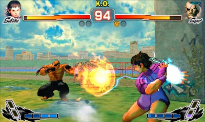 Super Street Fighter IV 3D Edition - Gameplay