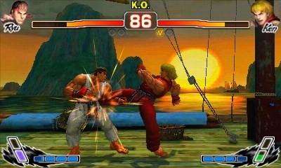 Super Street Fighter IV 3D Edition - Immagini per il lancio