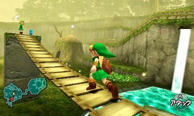 The Legend of Zelda: Ocarina of Time - Immagini dal Nintendo World 2011