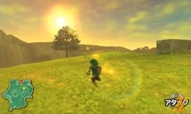 The Legend of Zelda: Ocarina of Time - Link in azione