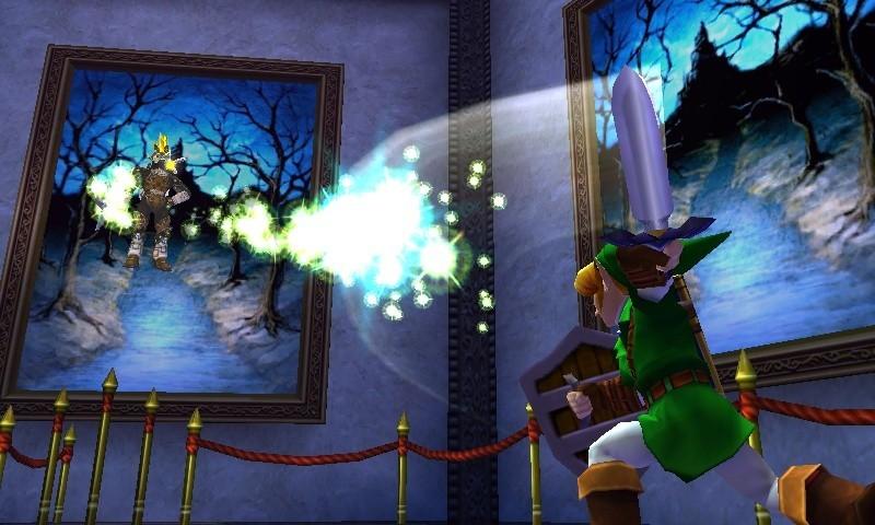 The Legend of Zelda: Ocarina of Time 3D - Screenshot dalla GDC 2011